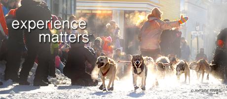 Yukon Quest in Dawson City - Nature Tours of Yukon