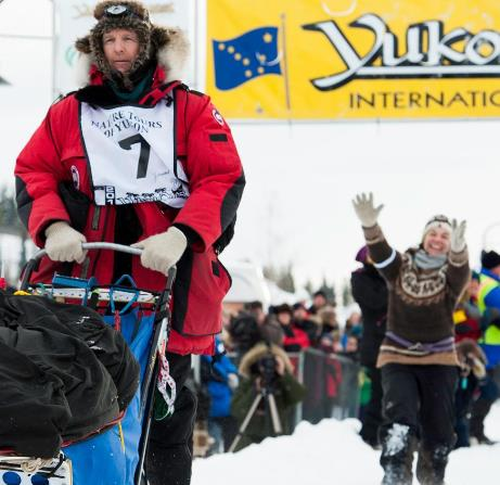 Yukon quest musher Normand Casavant - Nature Tours of Yukon