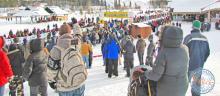 Yukon Quest - Start in Whitehorse
