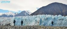 Donjek Glacier close up