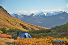 Camping in Kluane National Park