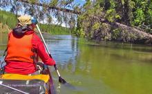Teslin River - Canoe trekking