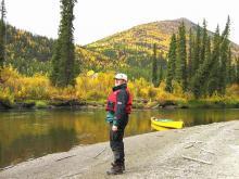 canoe trip Big Salmon River, yukon