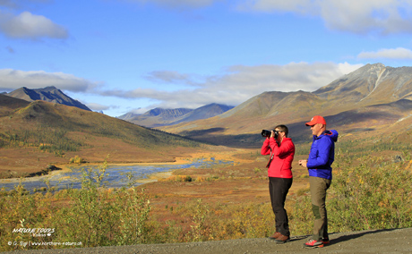 Arctic Circle Fall safari - photography road trip in Canada with Nature Tours of Yukon