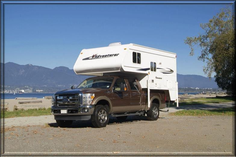 truck camper - TC - Nature Tours of Yukon
