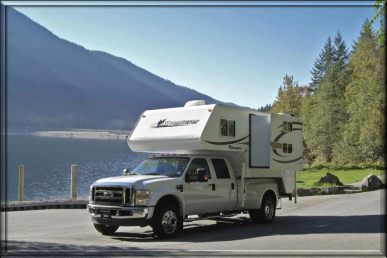 truck camper with bunk beds TC-B Yukon and alaska rental. Nature Tours Yukon