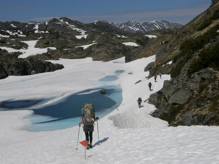 Chilkoot Trail Alaska with Nature Tours of Yukon