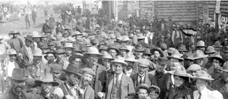 Dawson city Yukon Gold Rush