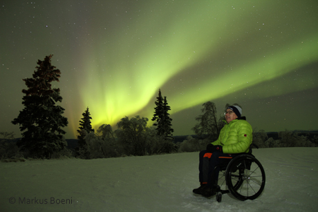 private wheelchair winter tour