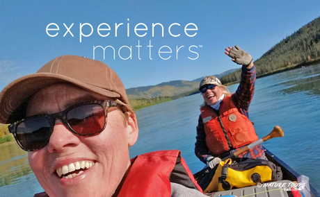 Big Salmon River canoe adventure with Nature Tours of Yukon