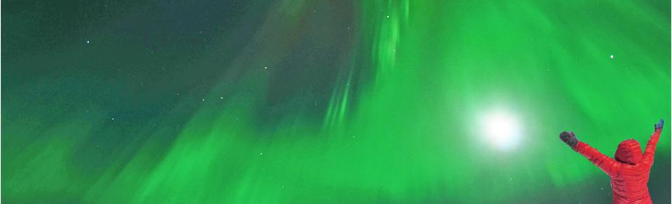 Nordlicht-Touren im Yukon - Aurora Borealis, Kanada