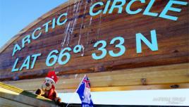 Aussies at the Arctic Circle