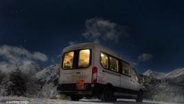 the Aurora van
