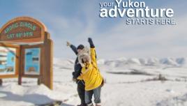 Arctic Circle in Yukon