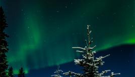 Northern Lights over Yukon, Canada
