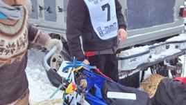 Yukon Quest - Normand Casavant sponsored by Nature Tours of Yukon.