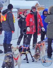 Yukon Quest - Normand Casavant arrives in Dawson