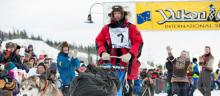 Yukon Quest - Start of Normand Casavant #7
