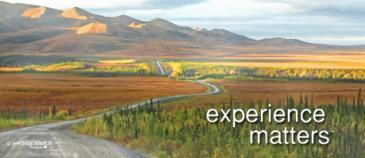 Driving to the Arctic Circle in Yukon, Canada